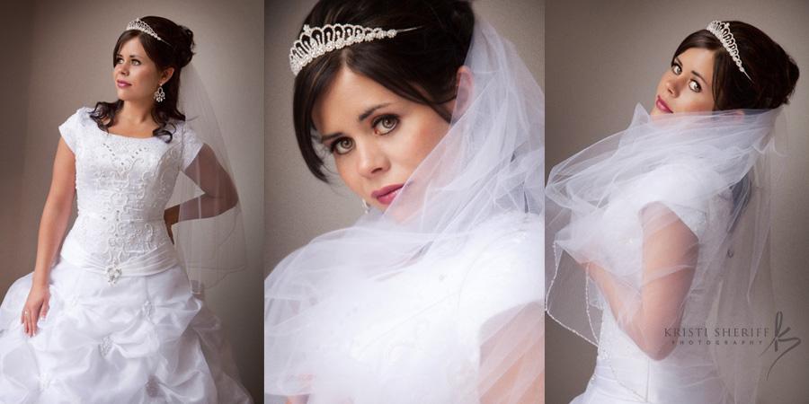 Beautiful Idaho Bride