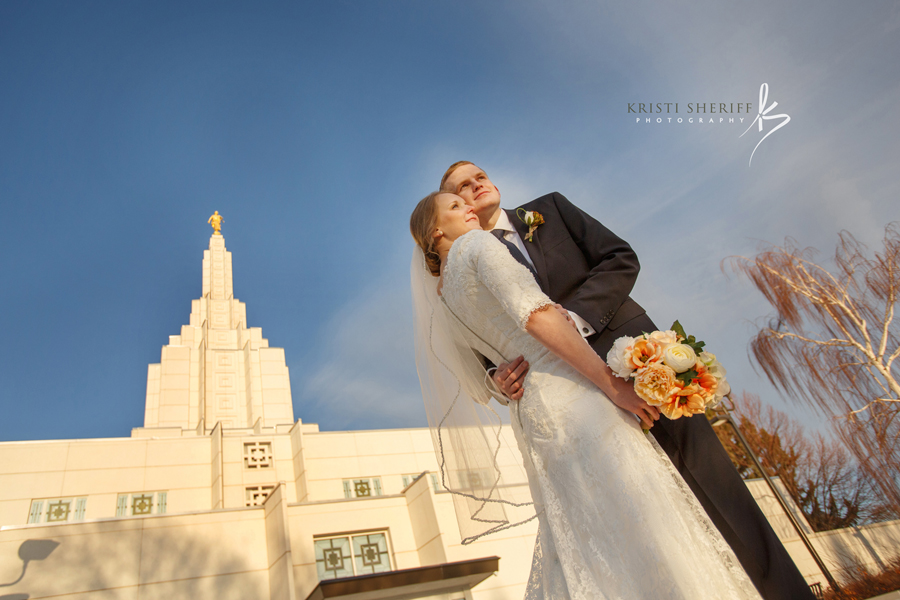 Idaho Falls Temple Wedding